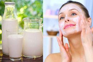 3 công thức làm đẹp rẻ tiền chỉ bằng sữa tươi