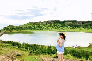 Hồ nước ngọt trên miệng núi lửa duy nhất ở Việt Nam