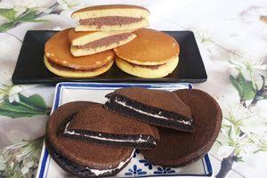 Làm bánh Doremon phiên bản Oreo khiến các bé thích mê