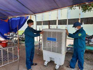 Bắc Giang: Bám chốt trong ngày nóng