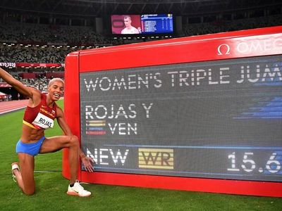 Yulimar Rojas đã đi vào lịch sử điền kinh sau khi phá kỷ lục Thế giới ở nội dung nhảy xa ba bước nữ tại Olympic Tokyo 2020.