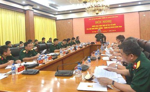 Bộ Quốc phòng triển khai Đề án tổ chức các hội nghị quốc phòng-quân sự ASEAN 2020