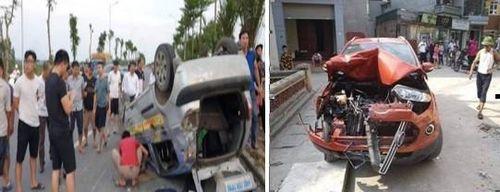 Gây tai nạn liên hoàn, tài xế xe Ford EcoSport có nồng độ cồn cao