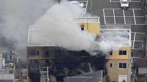 Bắt nghi phạm đốt xưởng phim hoạt hình khiến 33 người tử vong ở Nhật