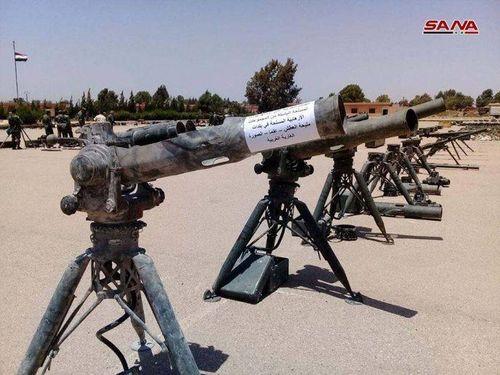 Quân đội Syria tóm gọn lô tên lửa của Mỹ ở Idlib, phản đòn quân đội Thổ Nhĩ Kỳ