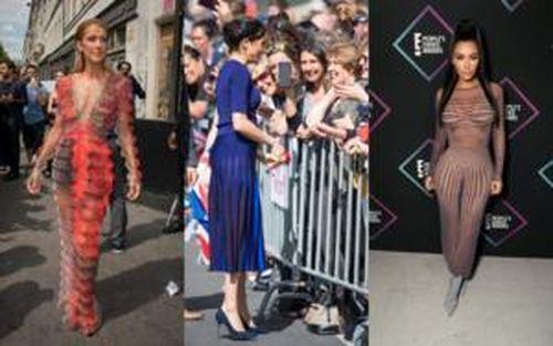 Meghan Markle và loạt sao Hollywood mặc váy 'đánh lừa ảo giác' ngoạn mục