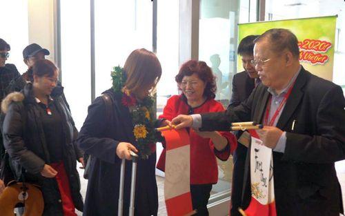 Vietjet tặng quà những hành khách đầu tiên năm Canh Tý