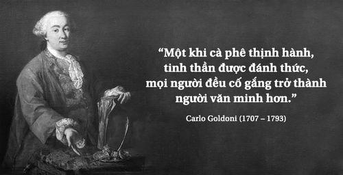 Kỳ 25: Triết gia Carlo Goldoni và tinh thần thời đại khởi xướng từ quán cà phê