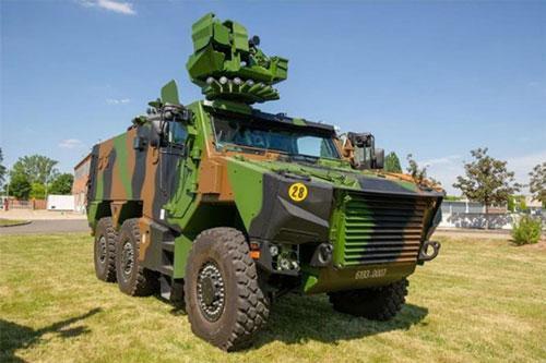 Lục quân Pháp được trang bị 17 xe bọc thép Griffon