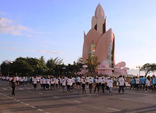 Khánh Hòa: Hơn 500 người tham gia Ngày chạy vì cuộc sống xanh, sạch, đẹp