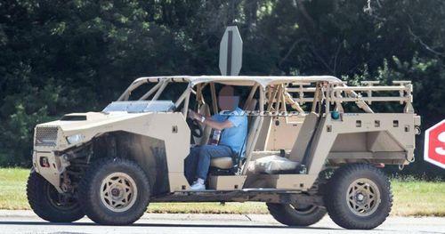 Rò rỉ hình ảnh mẫu xe của GM vừa được quân đội Mỹ đặt hàng