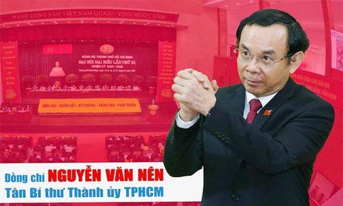 Ông Nguyễn Văn Nên được bầu giữ chức Bí thư Thành ủy TP Hồ Chí Minh