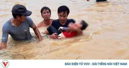 Bé trai 3 tuổi ở Đà Nẵng bị nước cuốn trôi
