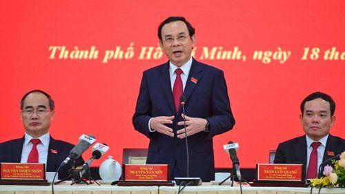 Bí thư Nguyễn Văn Nên chuyển sinh hoạt về đoàn ĐBQH TP.HCM