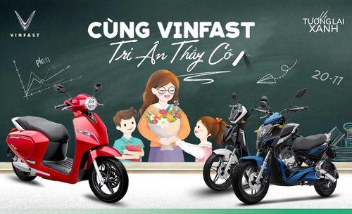 VinFast tặng quà tri ân thầy cô đón mừng ngày nhà giáo Việt Nam