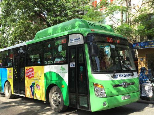 Mở tuyến buýt chất lượng cao số 68 Hà Đông - sân bay Nội Bài