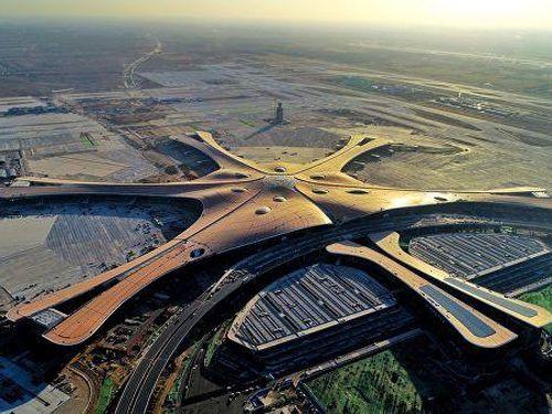 Bắc Kinh đã hoàn thành công trình sân bay lớn nhất thế giới