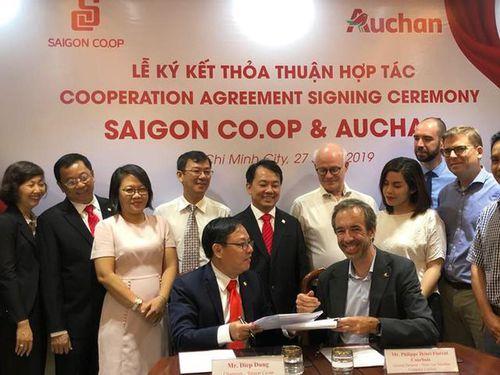 Mua lại Auchan: Đại gia Việt Saigon Co.op bất ngờ hé lộ dự định 'khủng'