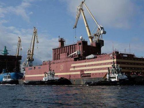 Nga xây nhà máy điện hạt nhân nổi vùng bờ biển Bắc Cực