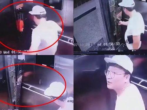 Cư dân mạng đòi truy tìm người đàn ông vô cớ đạp vỡ thang máy ở TP. HCM