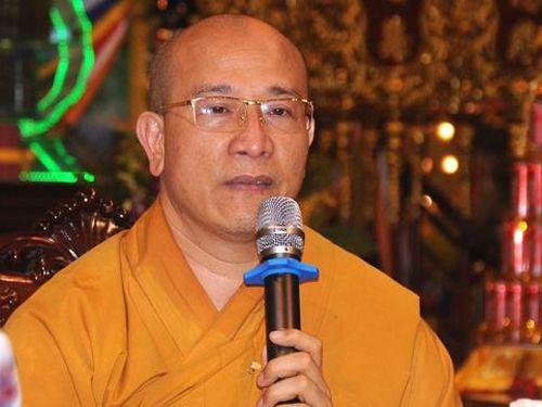 Đại đức Thích Trúc Thái Minh bị bãi nhiệm các chức vụ trong Giáo hội