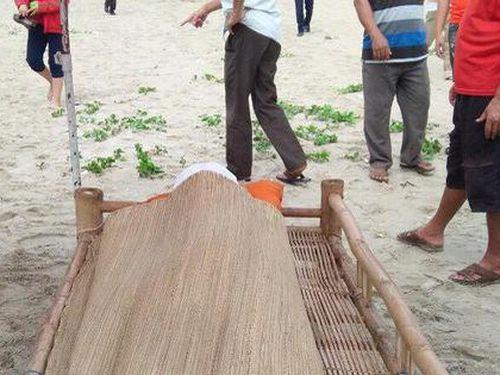 Tìm thấy thi thể nam sinh Đà Nẵng tại bờ biển Quảng Nam