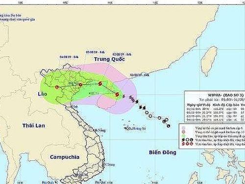 Hủy hàng loạt chuyến bay tới Hải Phòng, Quảng Ninh do bão số 3