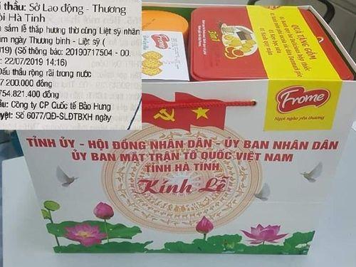 Có gì trong hồ sơ mời thầu mua lễ thắp hương thờ cúng liệt sĩ ở Hà Tĩnh?