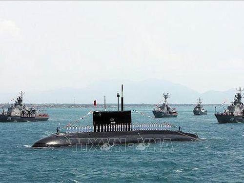 6 'Hố đen đại dương' thuộc Lữ đoàn Tàu ngầm của Hải quân Việt Nam