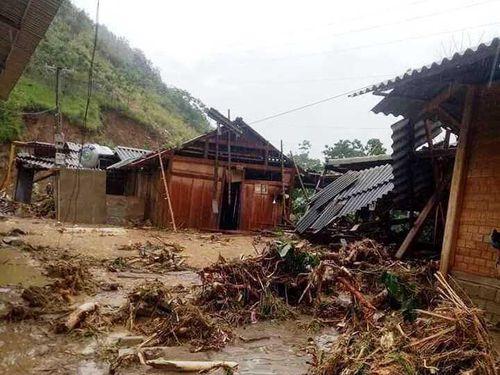 Thiệt hại bão số 3 tại Thanh Hóa: Bản Sa Ná chìm trong đau thương