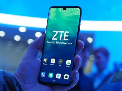 ZTE phát hành chiếc điện thoại 5G đầu tiên ở thị trường Trung Quốc
