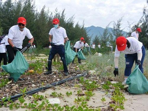 Chung tay 'Giải cứu đại dương', cùng làm sạch bãi biển