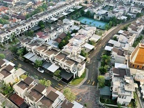 Kinh ngạc 'ngôi làng' mọc trên nóc trung tâm mua sắm Jakarta