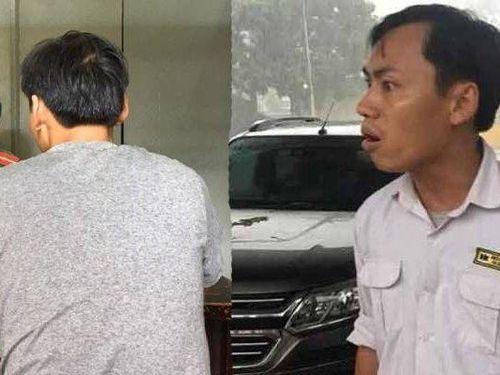 Hé lộ về cán bộ công an từ chối giúp cô gái bị tài xế taxi hành hung ở bến xe Yên Nghĩa