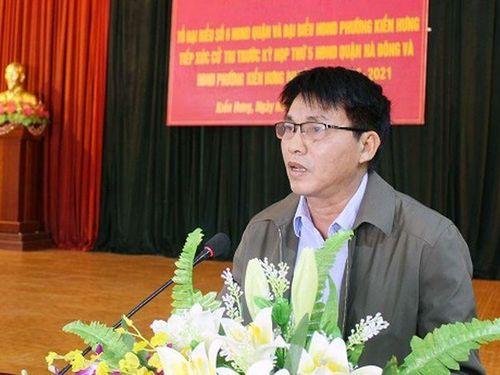 3 cán bộ Hà Nội bị khởi tố liên quan gì đến ông Lê Thanh Thản?