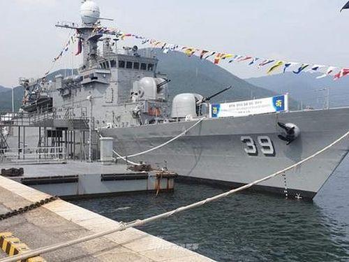 Chuyển giao trước Việt Nam nhưng giờ Philippines mới nhận tàu Pohang từ Hàn Quốc