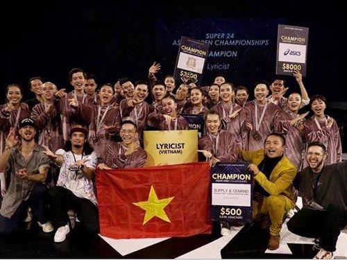 Việt Nam giành quán quân cuộc thi nhảy khu vực Đông Nam Á