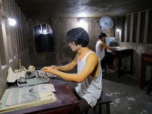 Bên trong căn hầm từng là xưởng in tuyệt mật giữa Sài Gòn