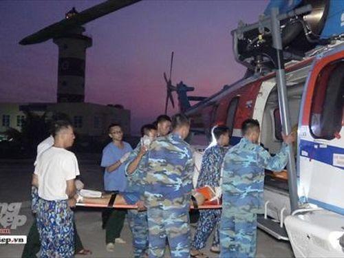 Chiến sĩ tai nạn ở đảo Sơn Ca đã qua cơn nguy kịch
