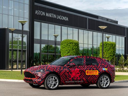 Aston Martin chen chân sản xuất SUV, ra mắt vào tháng 12