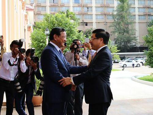 Việt Nam, Campuchia thống nhất nội dung hợp tác 28 lĩnh vực