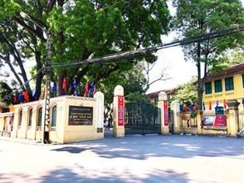 Kết luận sai phạm của Hiệu trưởng trường THPT Chu Văn An