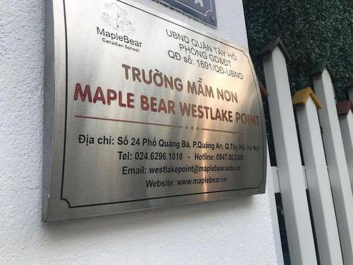 Trường mầm non Maple Bear đóng cửa sau sự việc cô nhốt trẻ vào tủ