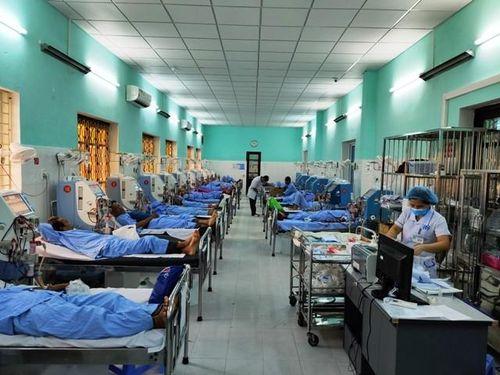 Chưa xác định được nguyên nhân bệnh nhân chạy thận rét, sốt