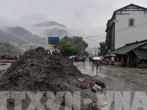 Lở bùn ở Tứ Xuyên, nhiều người chết và mất tích