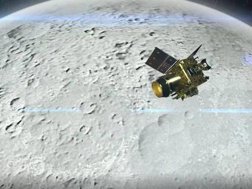 Tàu vũ trụ Ấn Độ chụp bức ảnh đầu tiên của Mặt Trăng