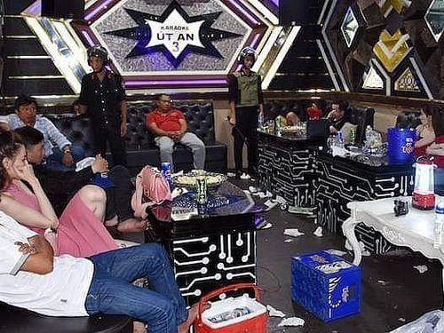 Bến Tre: Phát hiện 26 đối tượng phê ma túy trong quán karaoke