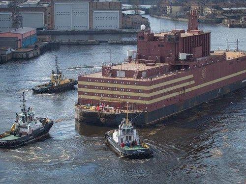 Hành trình vượt biển Bắc Cực của lò phản ứng hạt nhân nổi đầu tiên của Nga