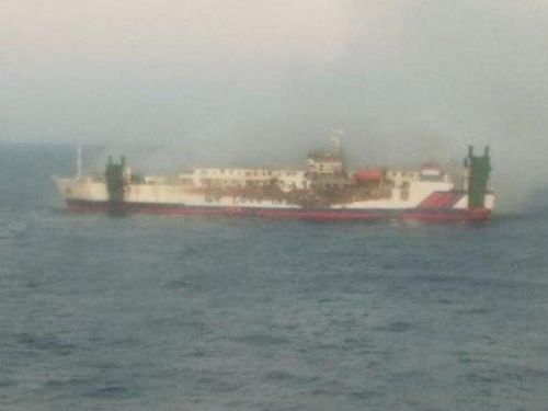 Vụ cháy tàu chở khách ở Indonesia: 4 người chết, gần 20 người mất tích