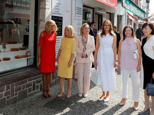 Các đệ nhất phu nhân G7 làm gì khi chồng bận họp thượng đỉnh?